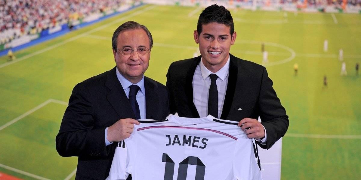 James podría regresar al Real Madrid tras palabras de Florentino Pérez