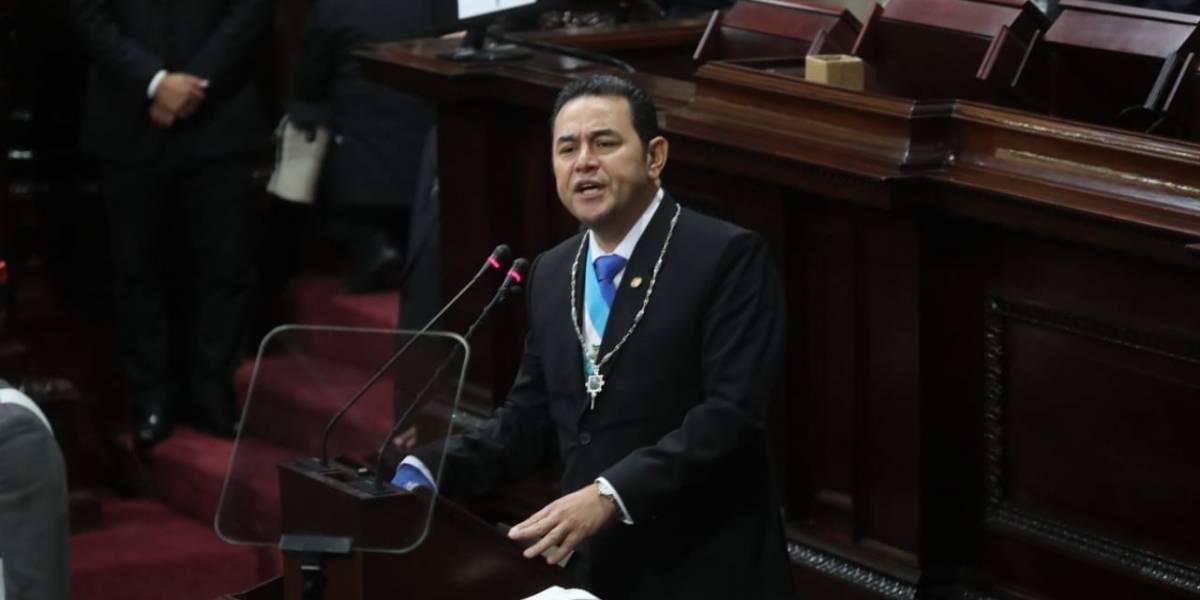 """Presidente Morales: """"Con nuestra sangre defenderemos Guatemala"""""""