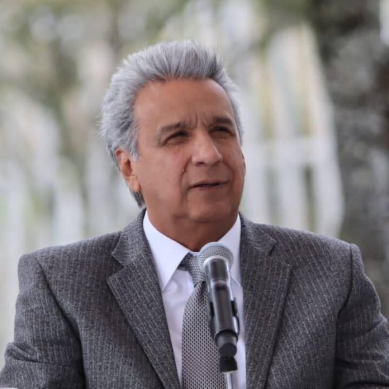 Presidente Moreno cumple gira en Europa