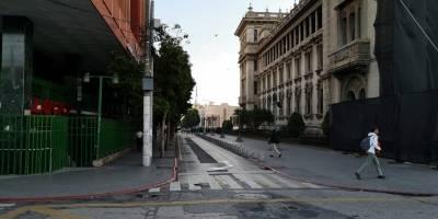 exmilitares retirados en plaza de la Constitución