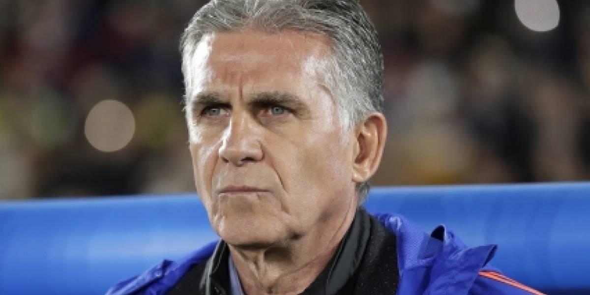 La polémica decisión que tomó Queiroz para partido contra Argelia