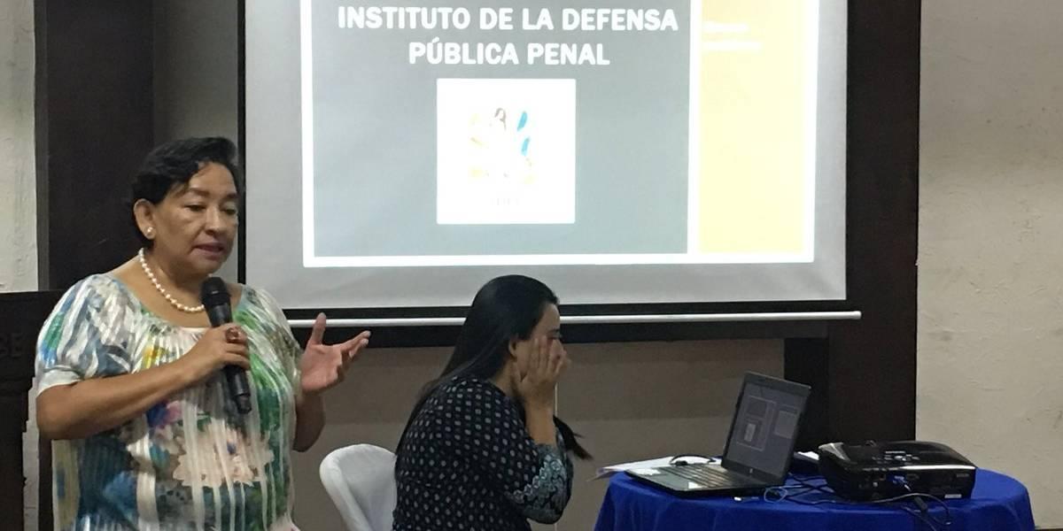 Analizan situación del Instituto de la Defensa Pública Penal