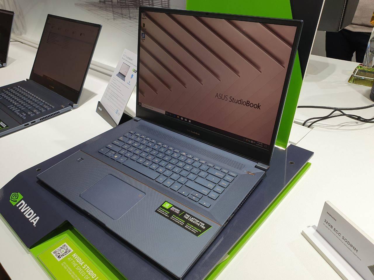 NVIDIA presentó sus gráficos profesionales Quadro RTX en 17 nuevas laptops #Computex2019
