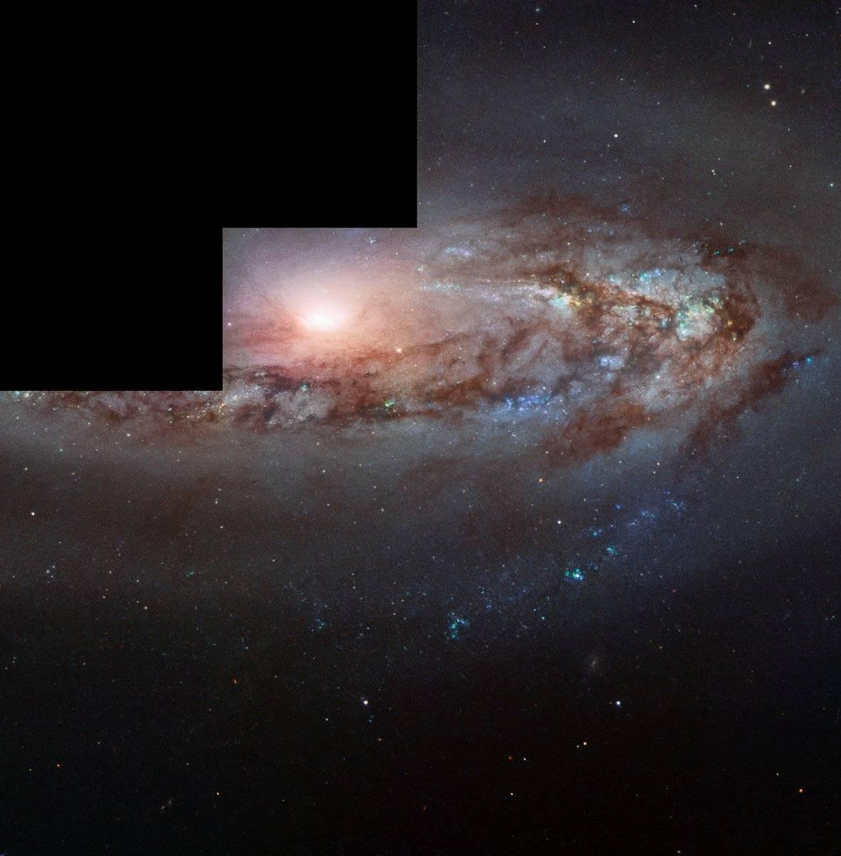 Una extraña galaxia se está acercando inexplicablemente a la Vía Láctea