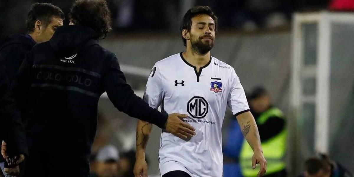 Jorge Valdivia está desgarrado y quedó en duda para la serie de Colo Colo con Puerto Montt por la Copa Chile