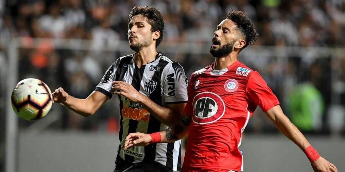 Unión La Calera dio batalla, pero quedó eliminada de la Copa Sudamericana por penales ante Atlético Mineiro
