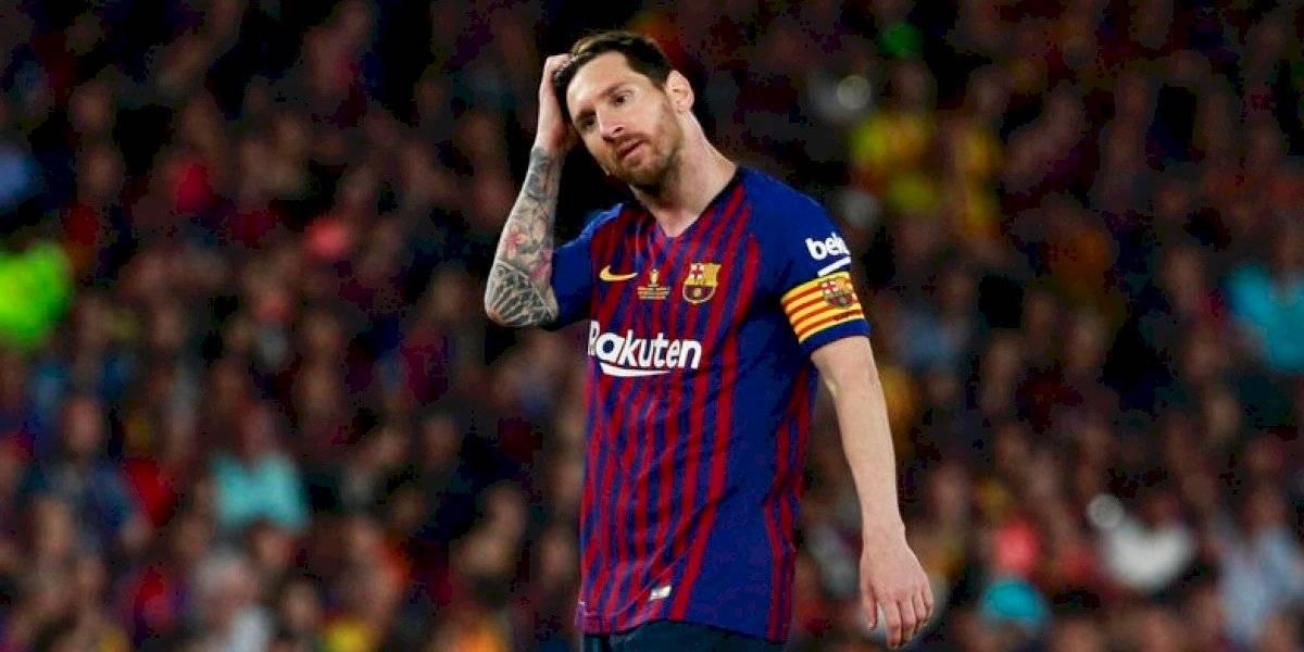 Messi comunica a Barcelona su intención de abandonar el equipo