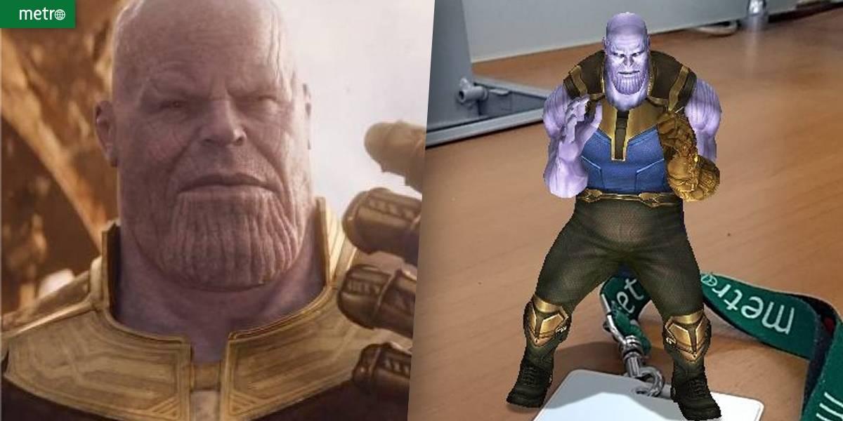 Nova lente do Snapchat coloca o vilão Thanos para dançar