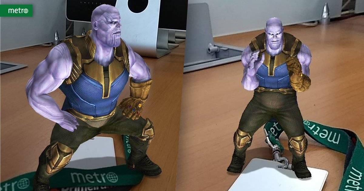Thanos Snapchat