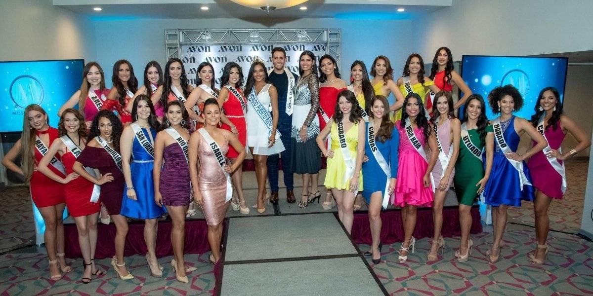 Presentan candidatas de Miss Mundo de Puerto Rico 2019