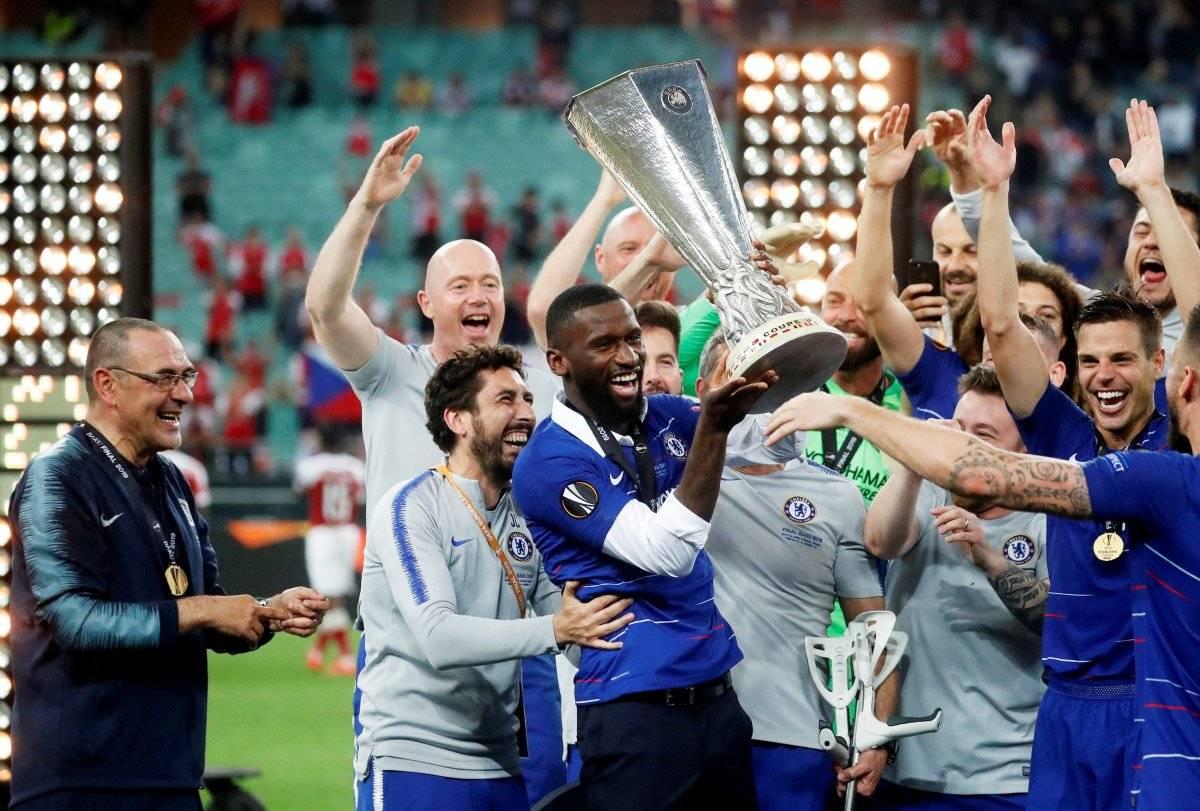 Chelsea golea 4-1 al Arsenal y se lleva el título de la Europa League 2019