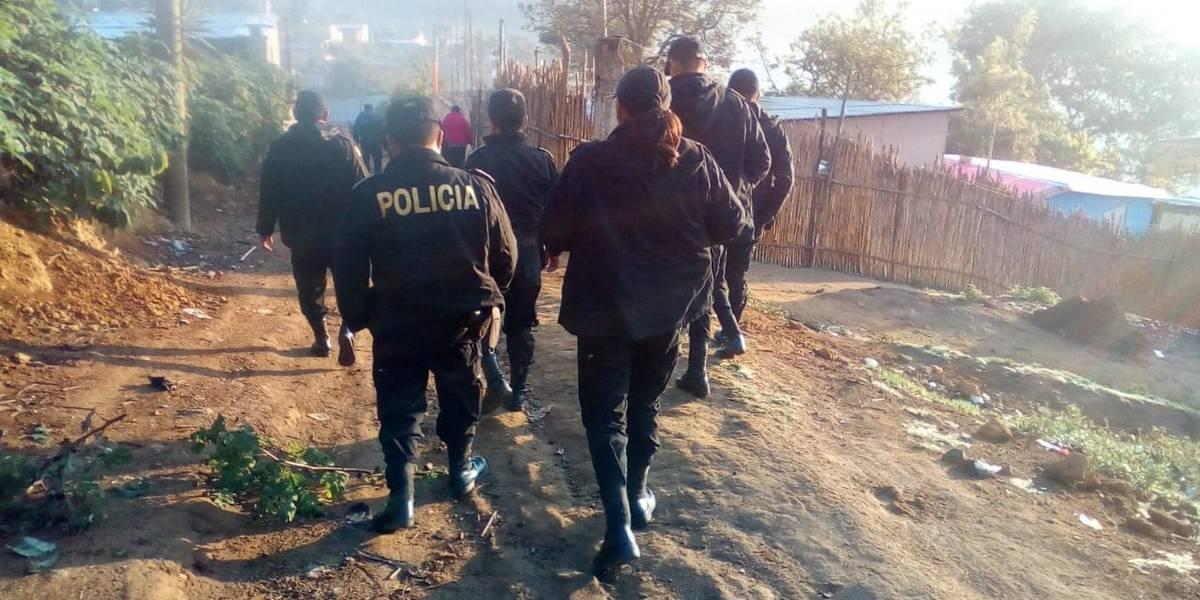Realizan operativo por crímenes contra mujeres en San Pedro Ayampuc
