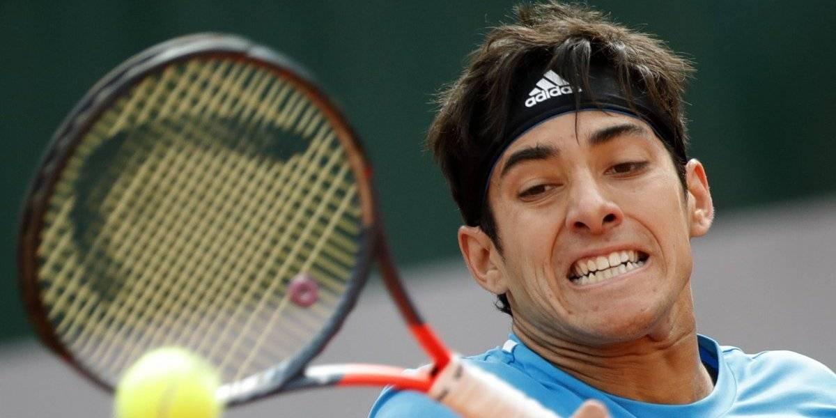 Cristian Garin no pudo ante un espectacular Stan Wawrinka y se despidió de Roland Garros