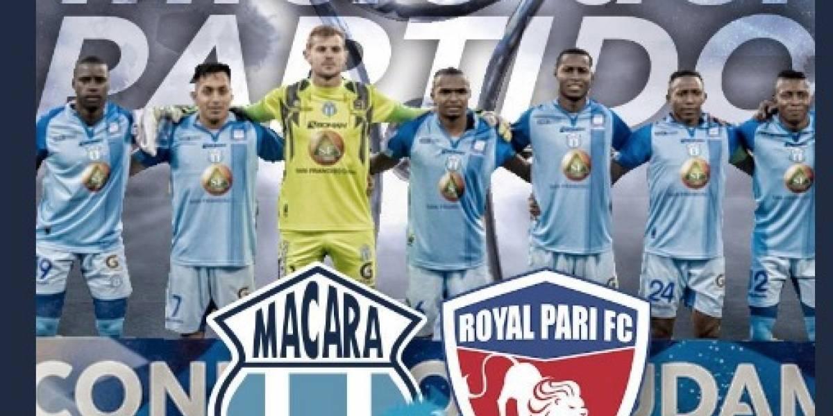 3-2. Royal Pari elimina al Macará, pese a que cayeron contra su rival