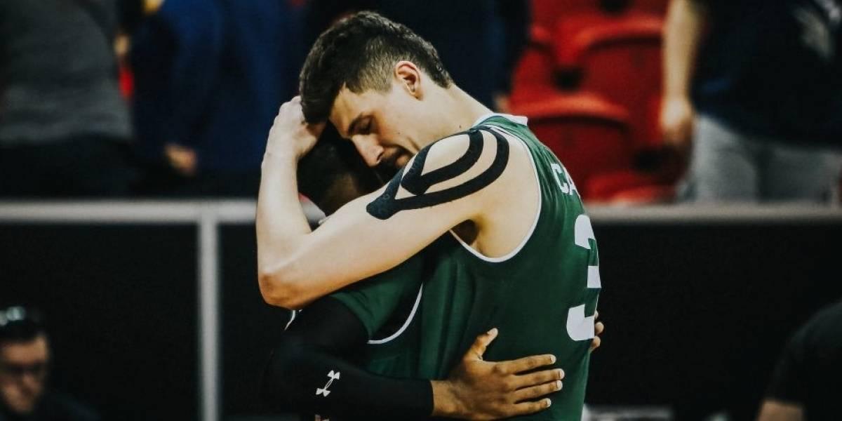Nicolás Carvacho se bajó del Draft de la NBA y volverá a jugar su último año en la NCAA
