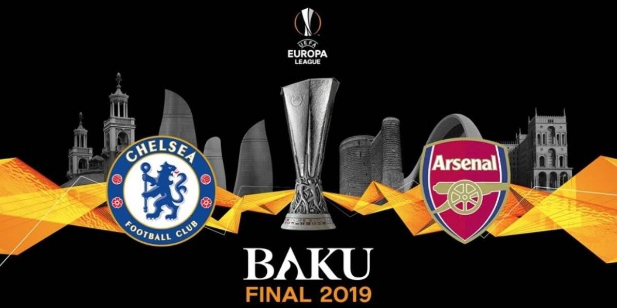 Minuto a minuto: Chelsea y Arsenal buscan el título de la UEFA Europa League