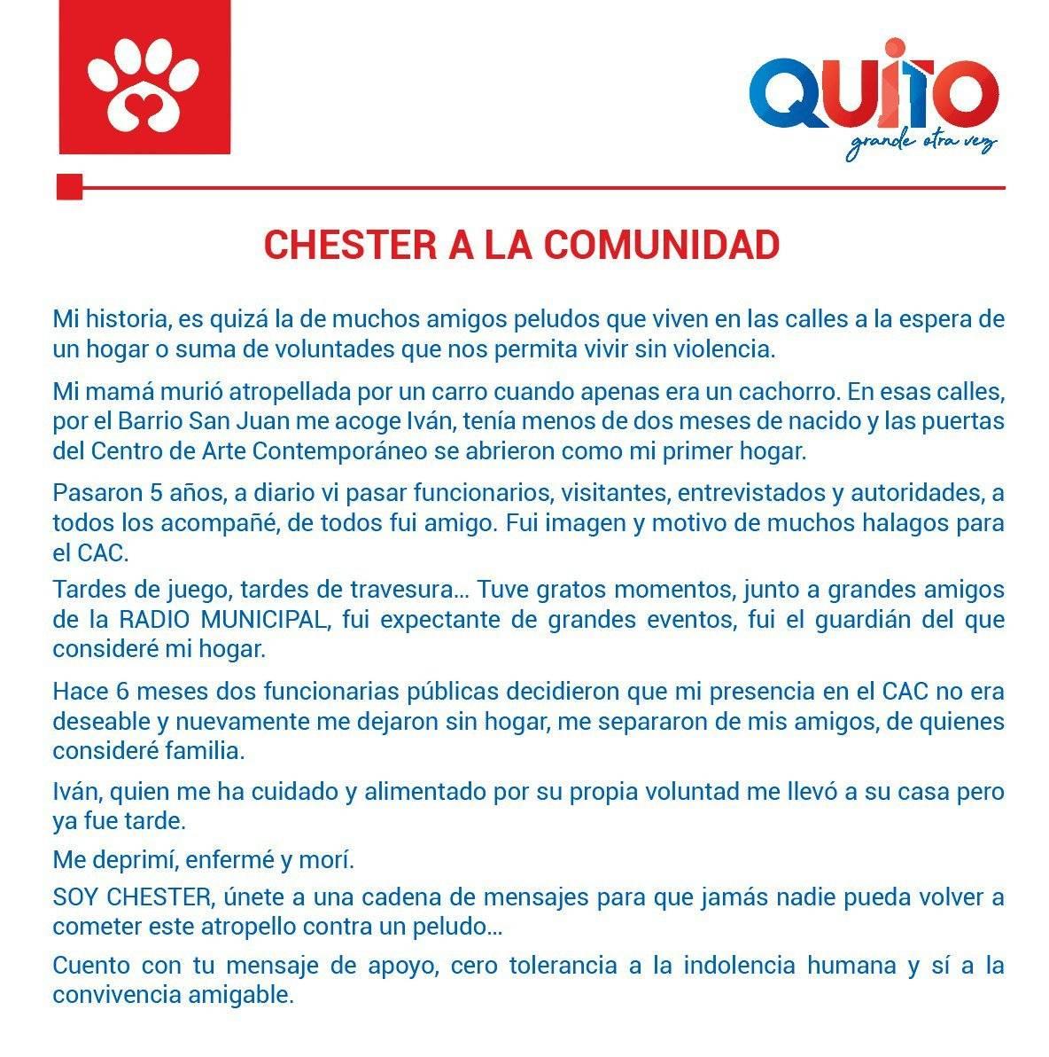 Carta de Chester