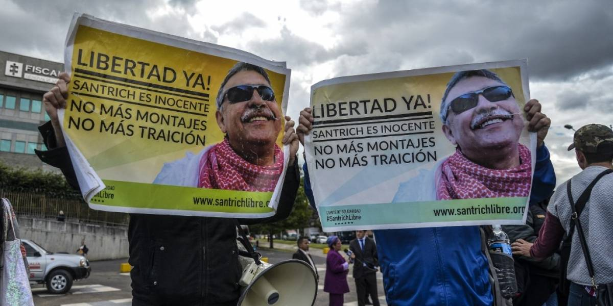 Ordenan excarcelar a exjefe de las FARC requerido por EE. UU.