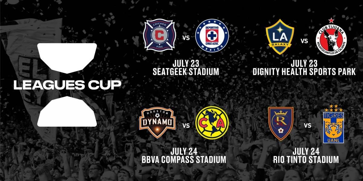 Anuncian los partidos y horarios de la Leagues Cup