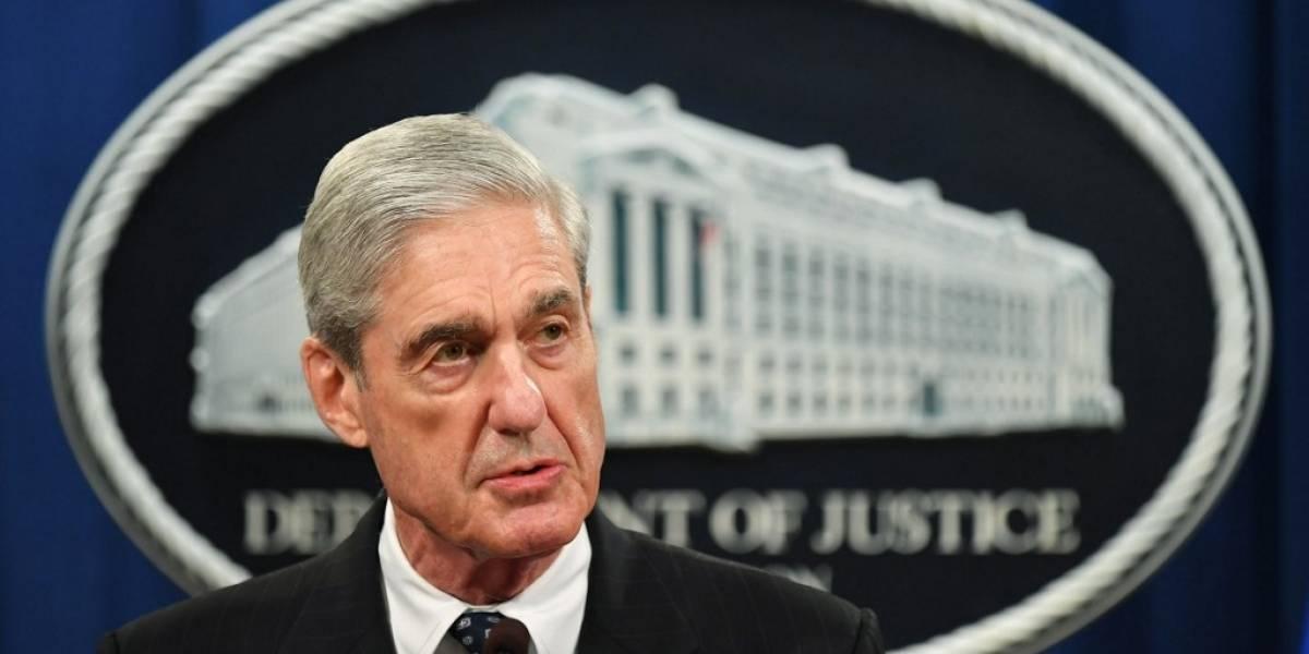 Mueller niega que investigación exonere a Trump y deja caso en manos del Congreso