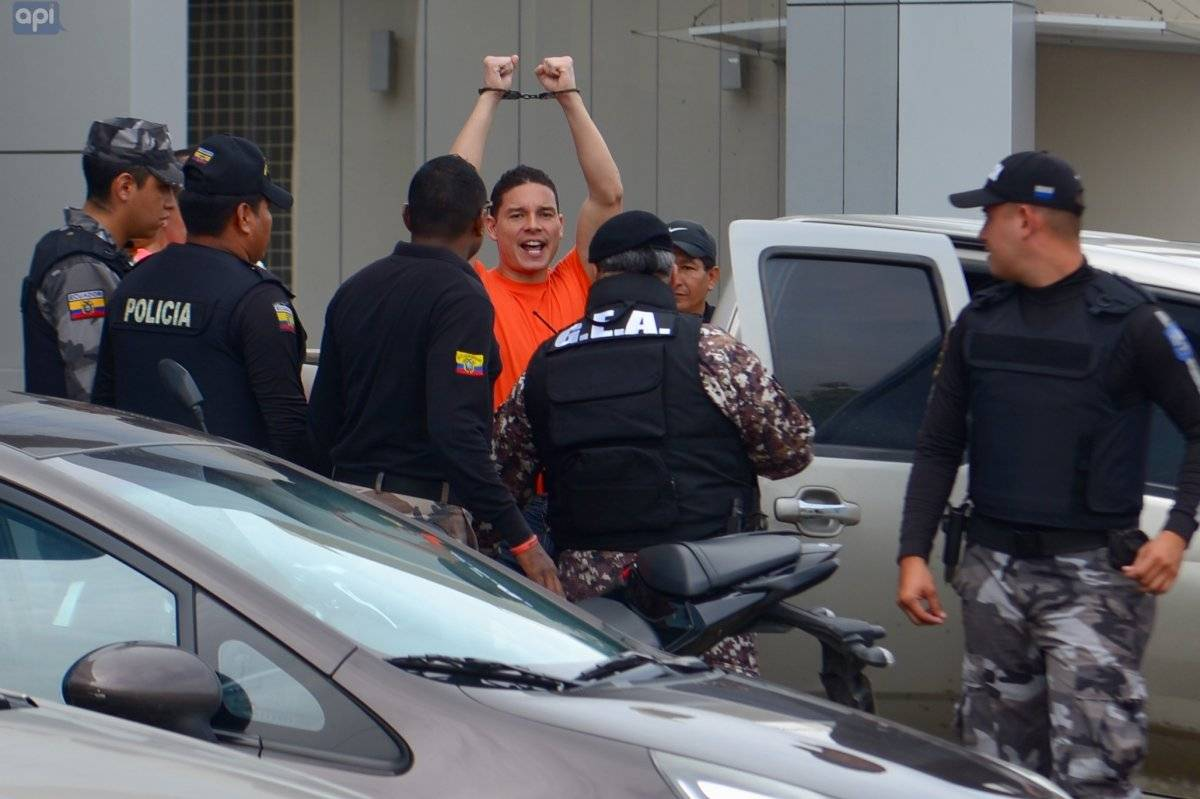 Audiencia de juzgamiento a Iván Espinel por el delito de lavado de activos imputado en febrero