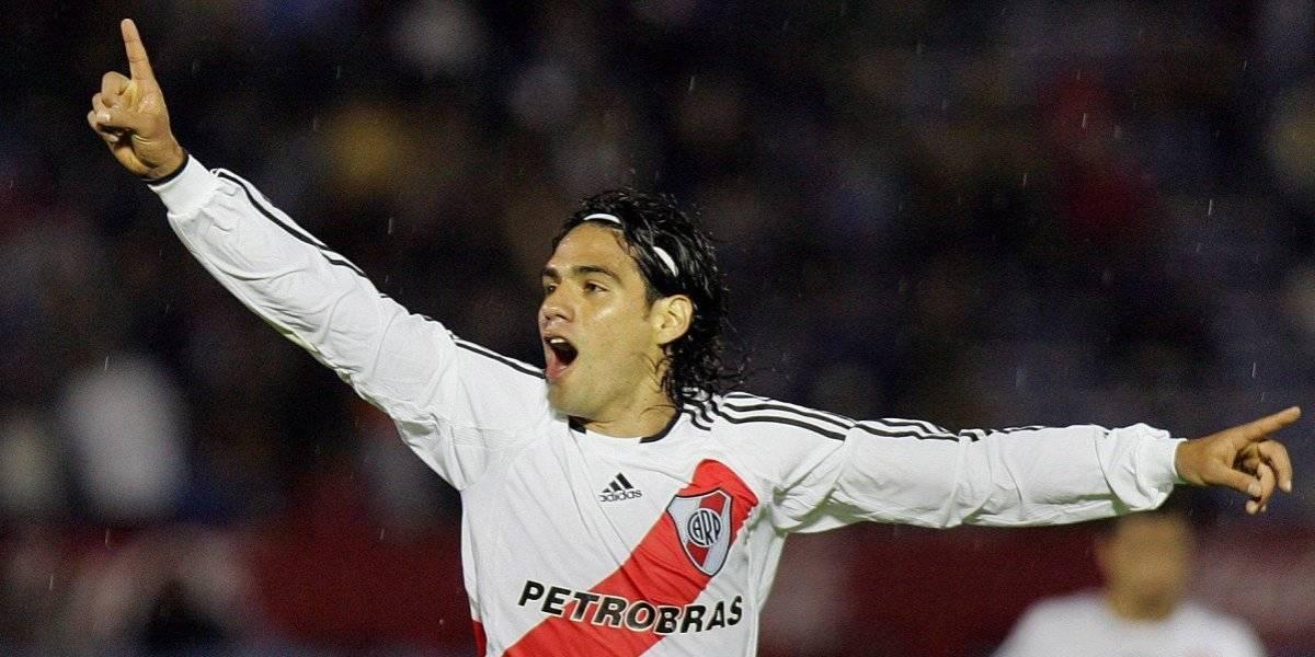 Falcao coqueteó con River Plate en redes y muchos le ruegan que vuelva