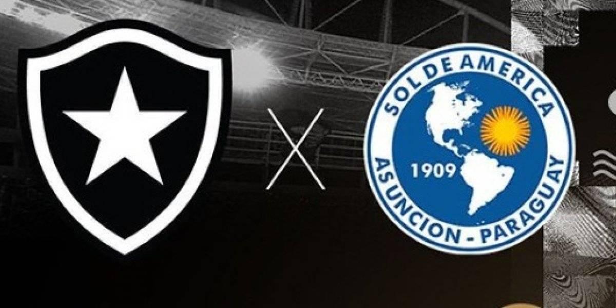 Copa Sul-Americana 2019: como assistir ao vivo online ao jogo Botafogo x Sol de América