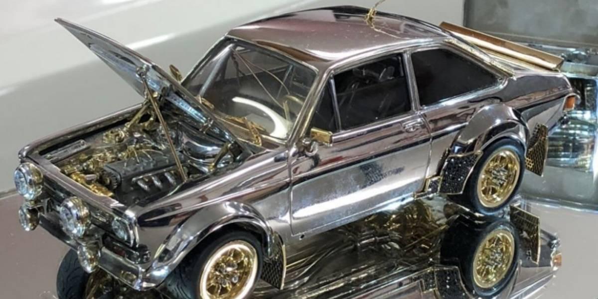 La última joya de Ford tiene oro, plata y diamantes y cabe en la mano