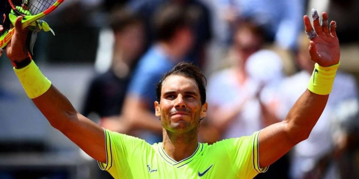 Rafael Nadal sigue arrollando a sus rivales en el camino a la duodécima corona en Roland Garros