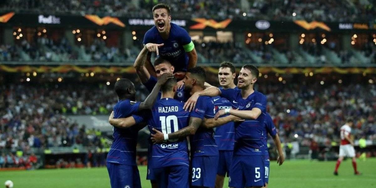 Chelsea vapuleó a Arsenal y gritó campeón de la Europa League por segunda vez