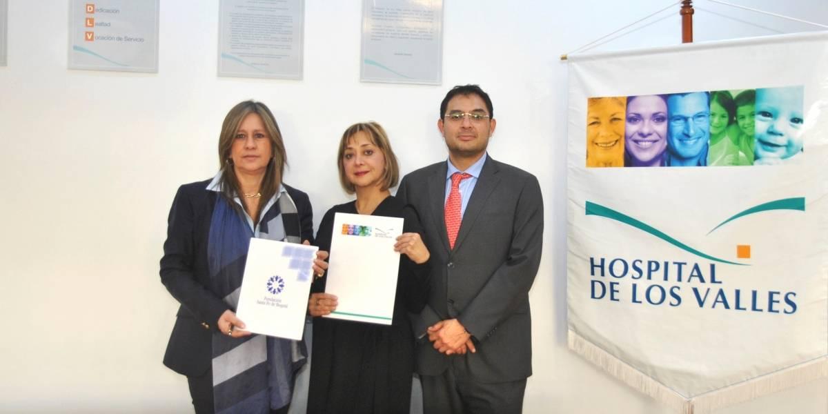 Hospital de los Valles firmó convenio de cooperación con Fundación Santa Fe de Bogotá