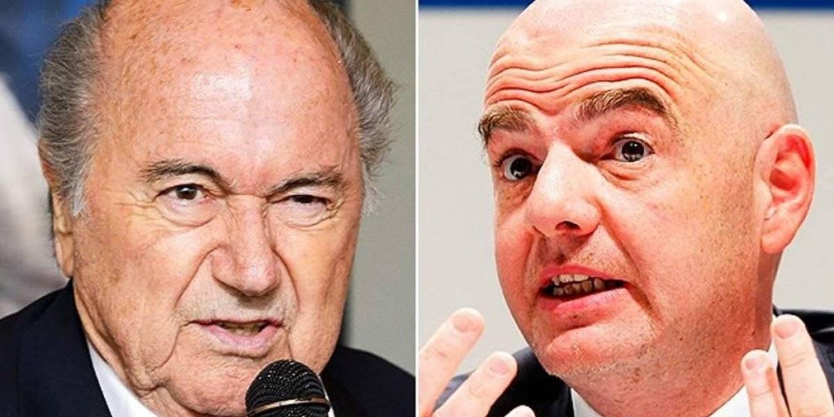 Joseph Blatter advierte que demandará a Gianni Infantino y a la FIFA