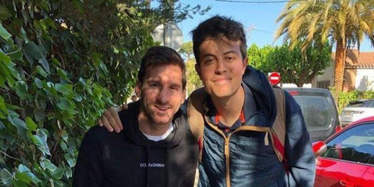 Así es la costosa pijama de Lionel Messi
