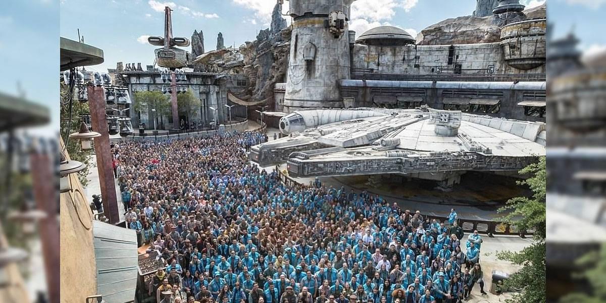 Star Wars: Galaxy's Edge está terminado y Disney celebra con una foto