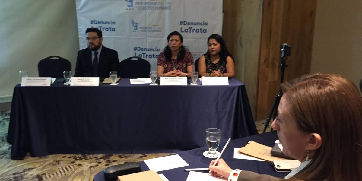 Informe de la PDH reafirma aumento de casos de trata de personas