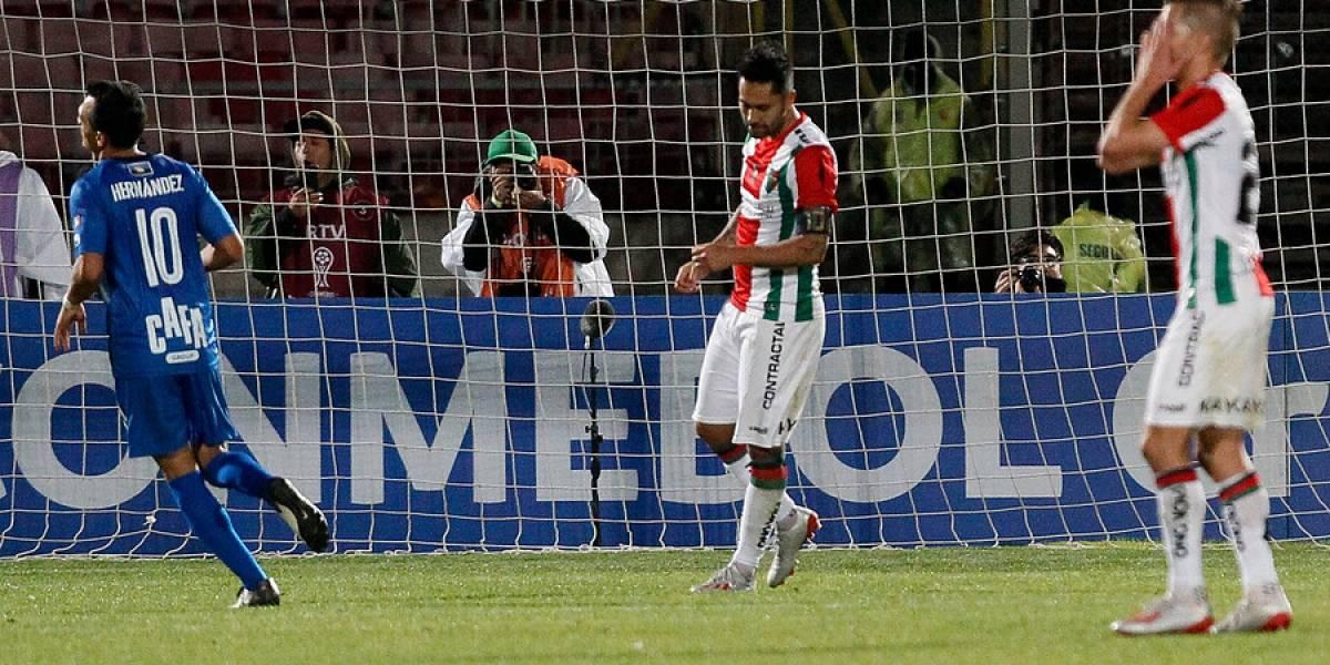 """La pena de Luis Jiménez en la Sudamericana: """"Es mi primer día triste desde que llegué a Palestino"""""""