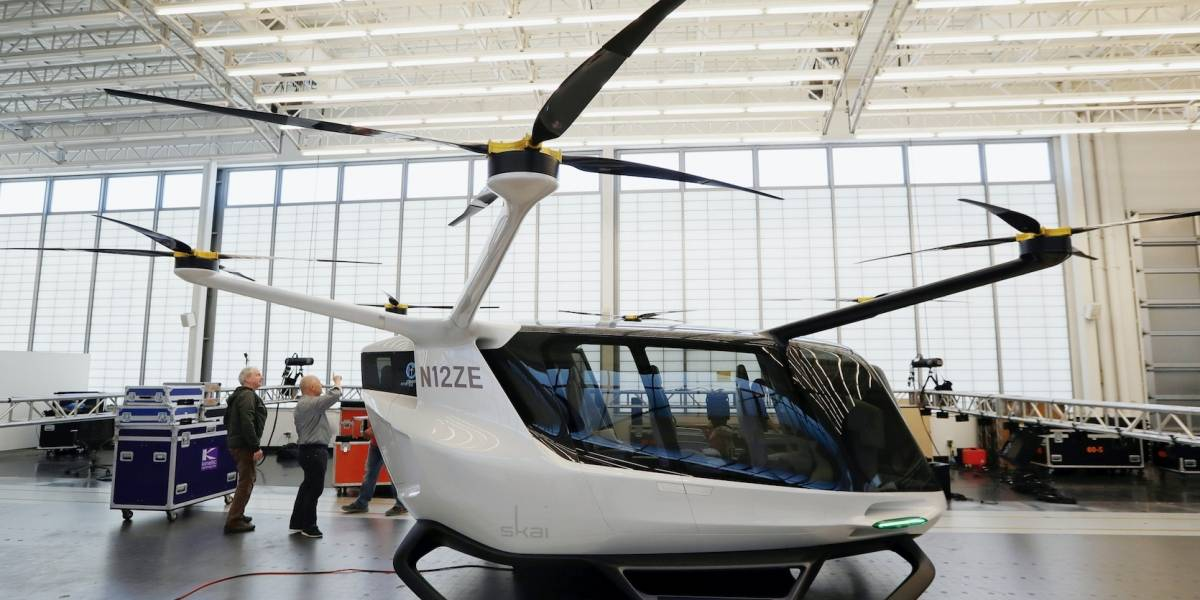 Faltan años para que despegue vehículo volador eléctrico