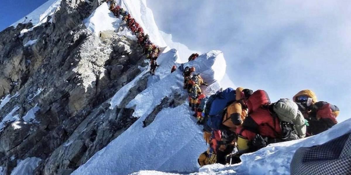 """El """"tráfico"""" aumenta el número de muertos en el Everest"""