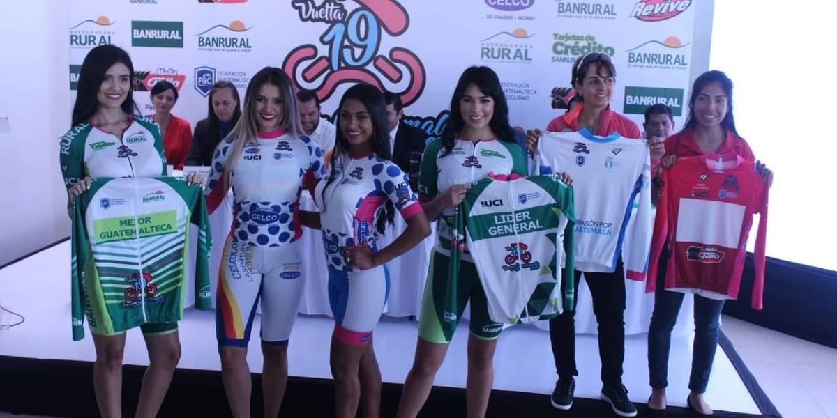 La vuelta ciclística femenina recorrerá seis departamentos del país