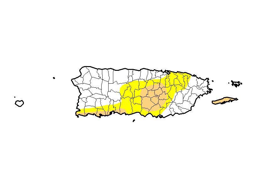 22 pueblos siguen en sequía moderada