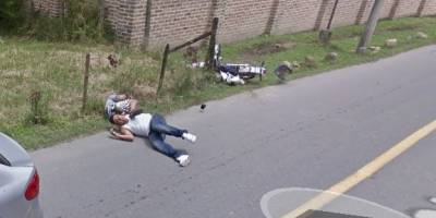Accidente Google Map