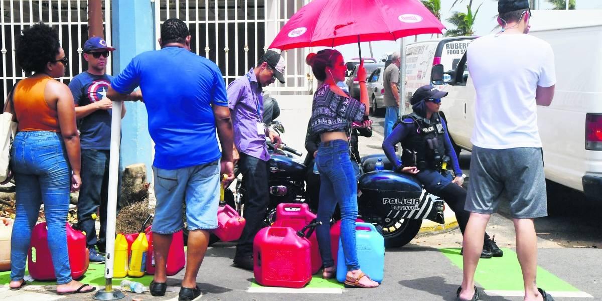 Aseguran hay combustible para un mes en la isla