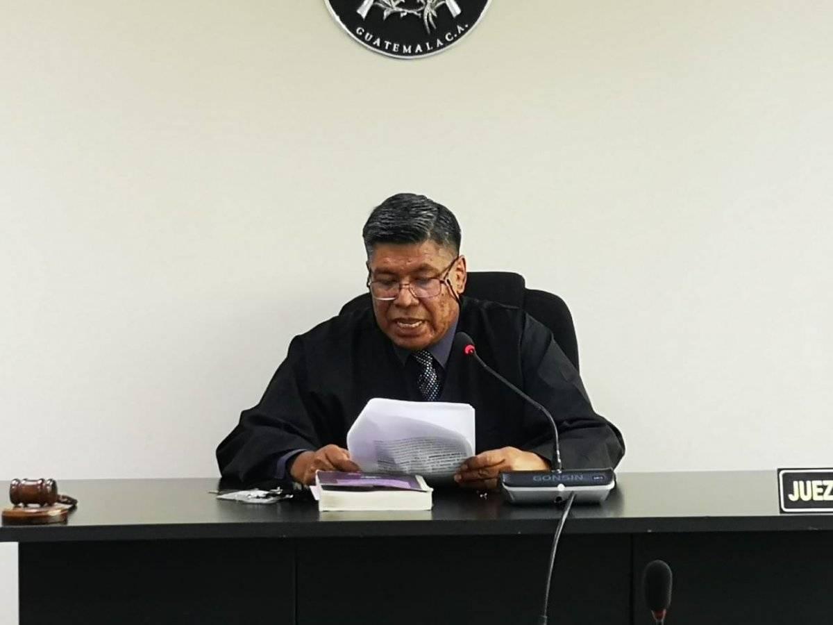 Juez Gustavo Castillo