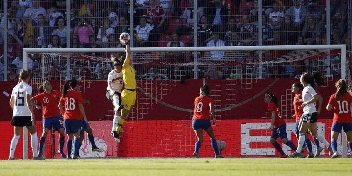 La Roja femenina cerró su preparación para el Mundial con una apretada derrota ante Alemania