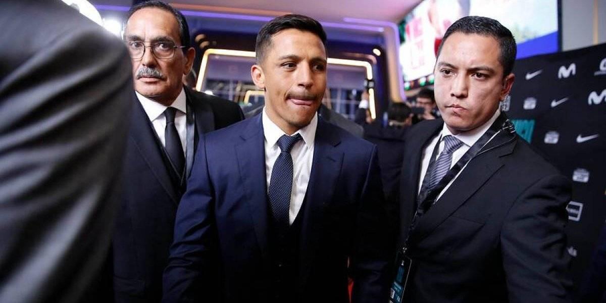 Alexis Sánchez se sumó a la disciplina de la Roja para la Copa América