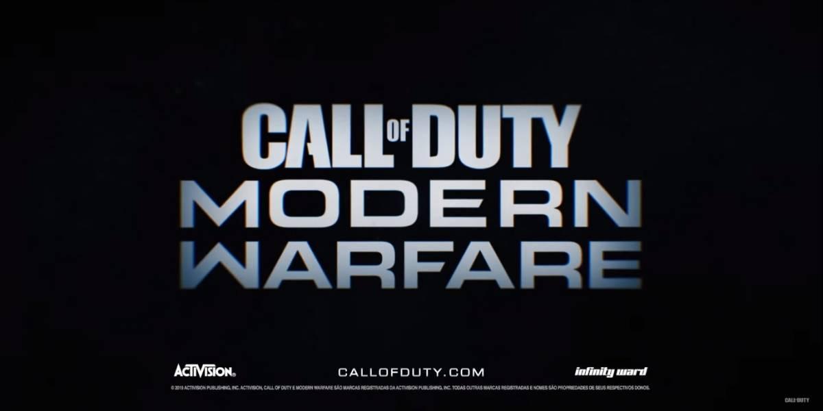 'Call of Duty: Modern Warfare' chega em 25 de outubro