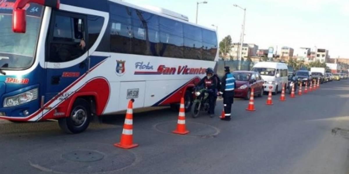 Mujer denuncia que fue abusada en un bus de Mosquera a Bogotá