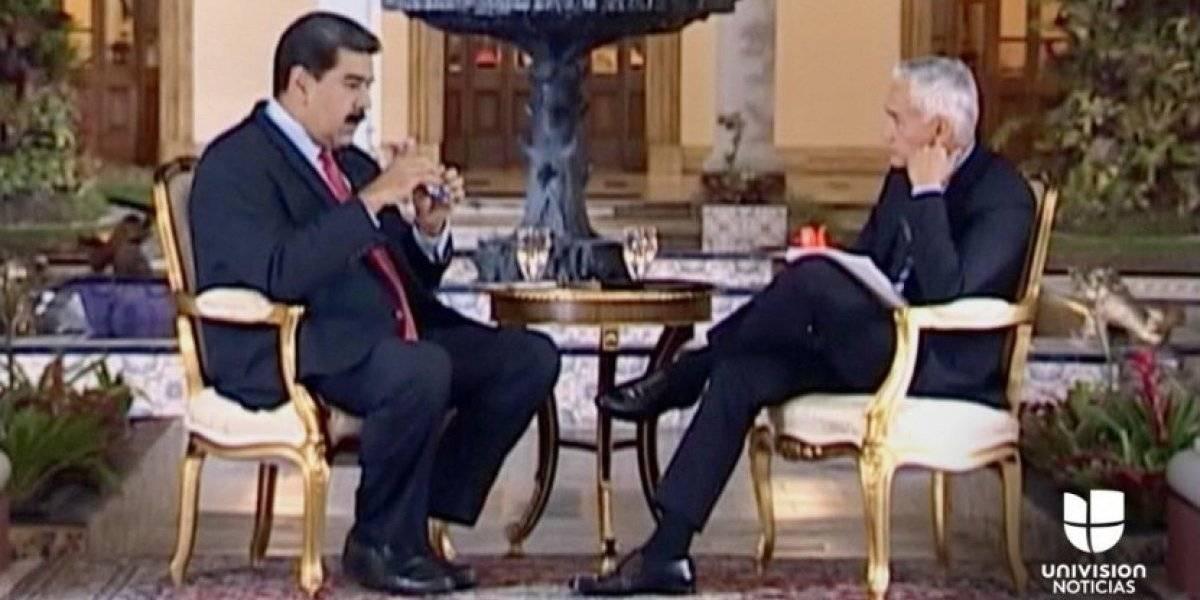 Se filtró la entrevista que enfureció a Maduro
