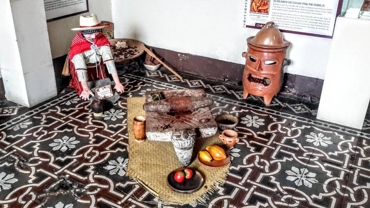 Chocolate en la gastronomía guatemalteca