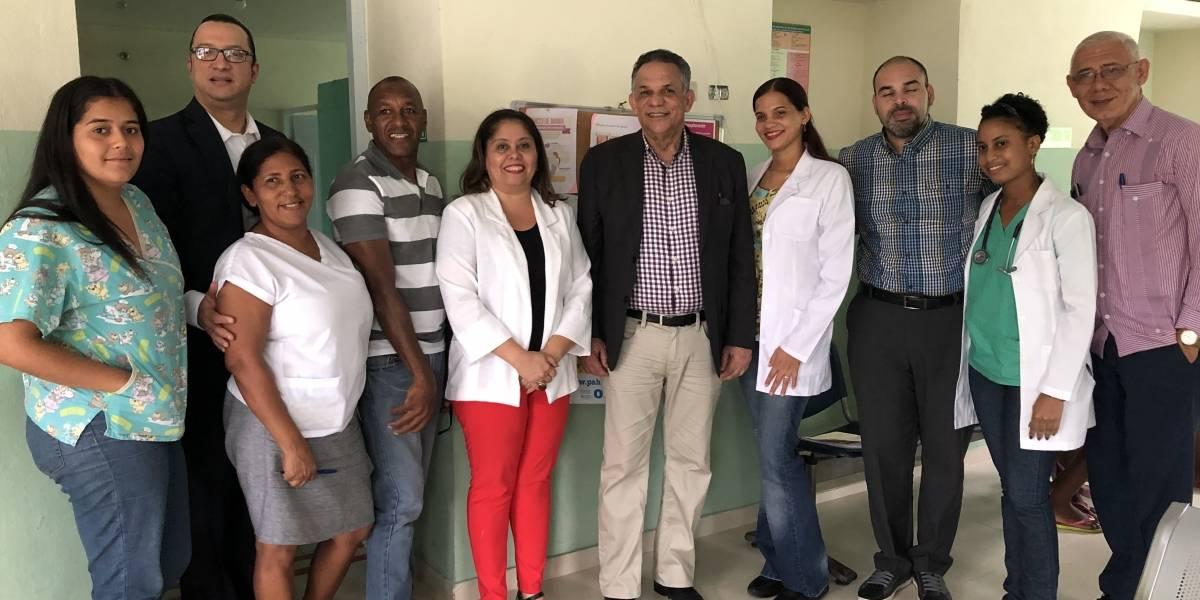 Ventura Camejo continúa supervisando Centros de Primer Nivel de Atención de Salud del país